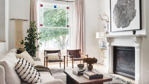 This Designer's Renovated Victorian Is Filled With Global Treasures