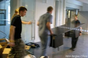 How To Move A Desk Without Hiring Movers